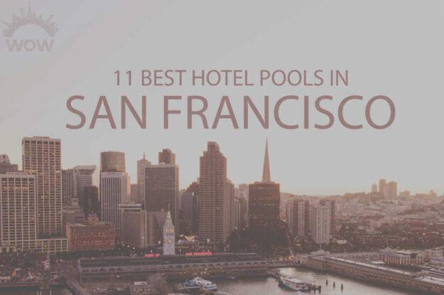 11 Best Hotel Pools in San Francisco