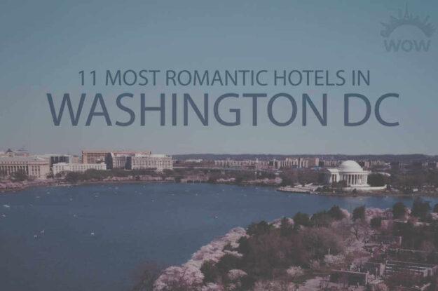 11 Most Romantic Hotels in Washington DC