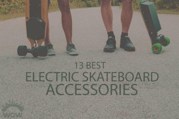 13 Best Electric Skateboard Accessories