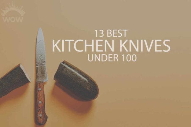 13 Best Kitchen Knives Under 100