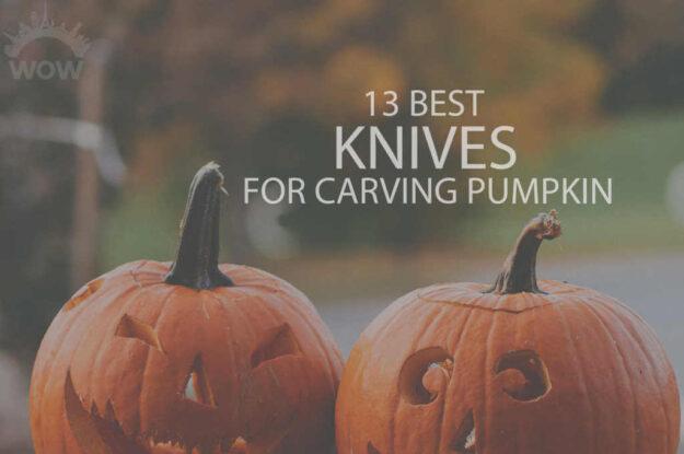 13 Best Knives for Carving Pumpkin