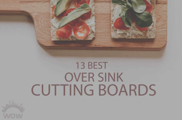 13 Best Over Sink Cutting Boards