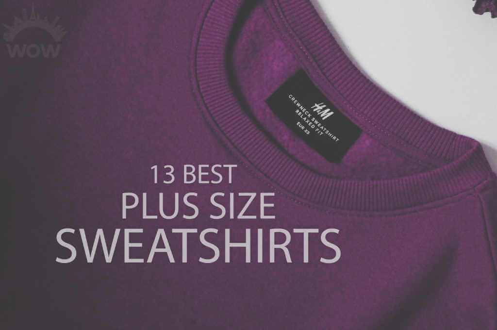 13 Best Plus Size Sweatshirts