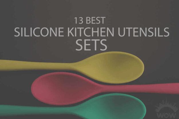 13 Best Silicone Kitchen Utensils Set