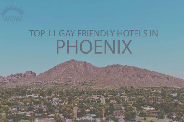 Top 11 Gay Friendly Hotels in Phoenix