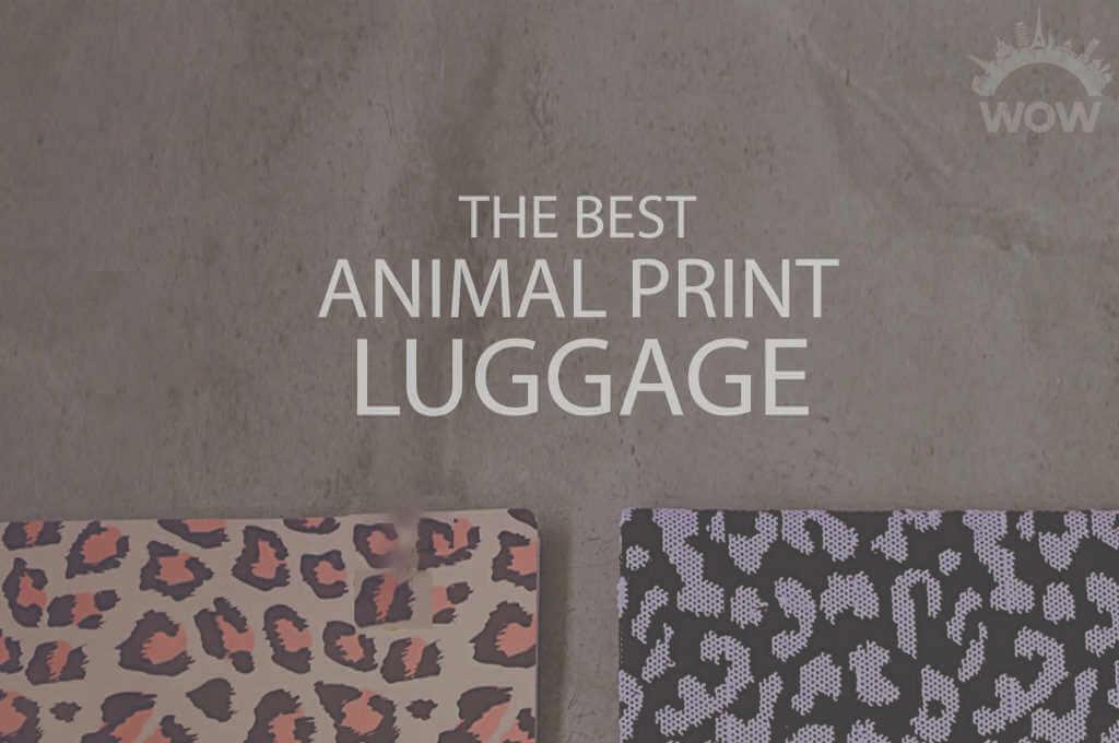 13 Best Animal Print Luggage