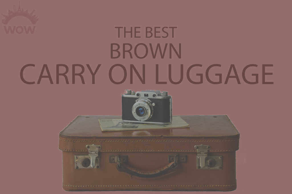 13 Best Brown Carry On Luggage