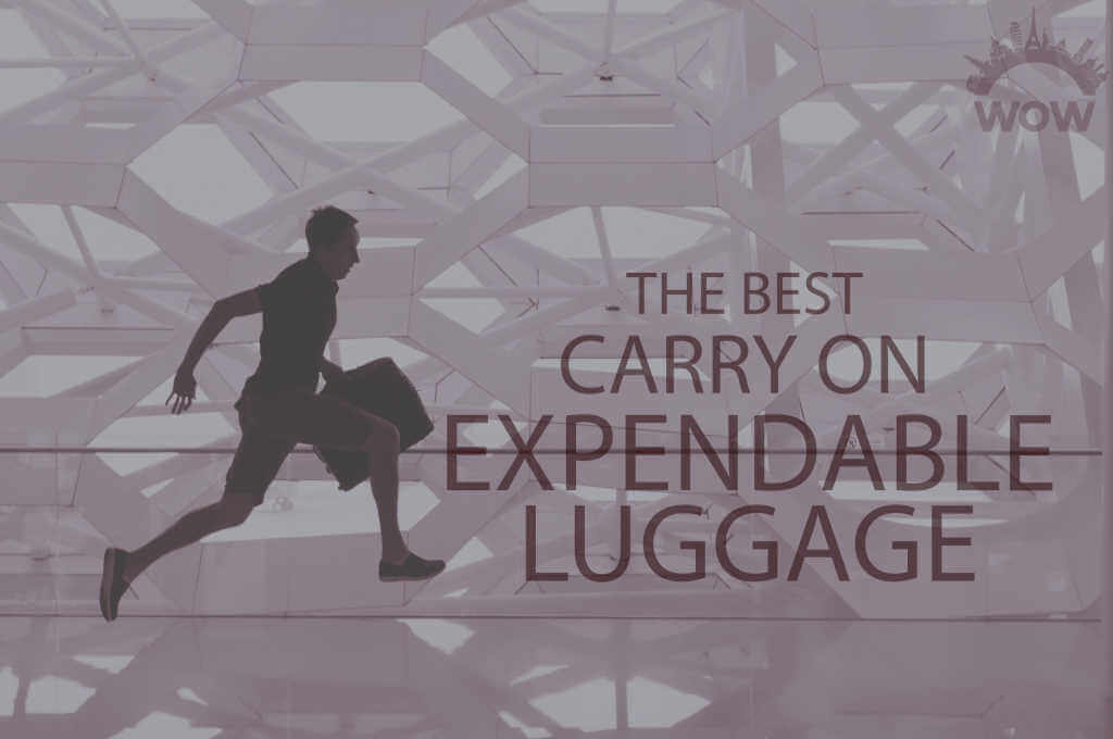 13 Best Carry On Expandable Luggage
