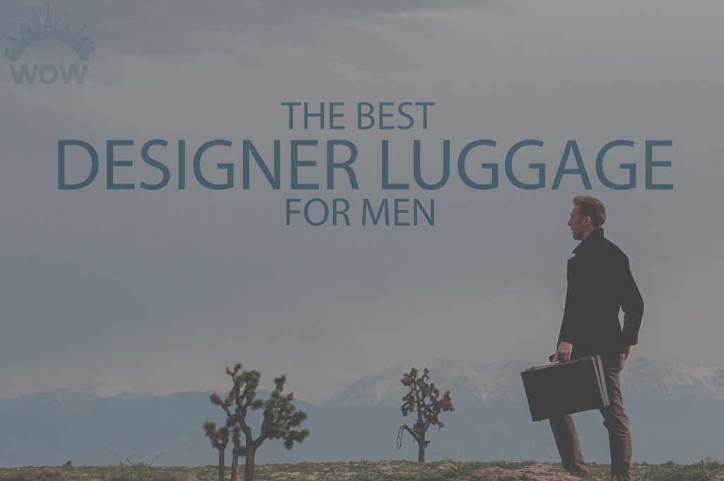 13 Best Designer Luggage for Men
