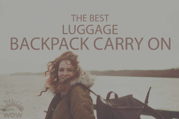 13 Best Luggage Backpack Carry On