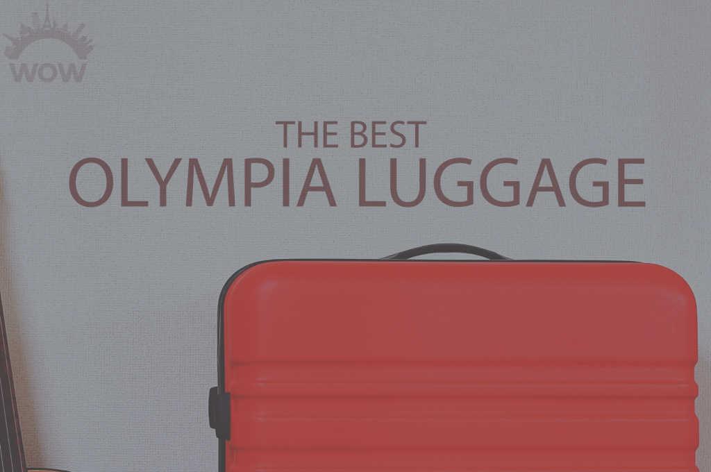 13 Best Olympia Luggage
