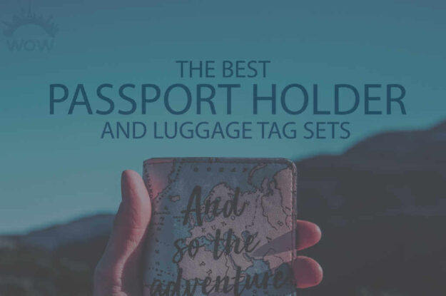 13 Best Passport Holder and Luggage Tag Sets
