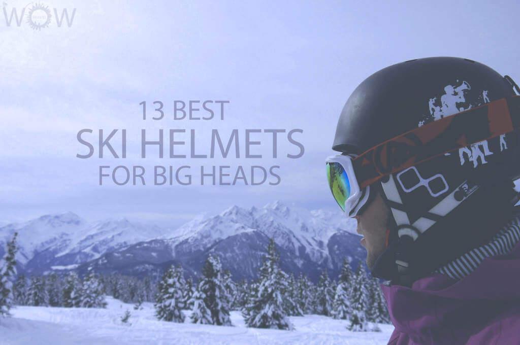 13 Best Ski Helmets For Big Heads