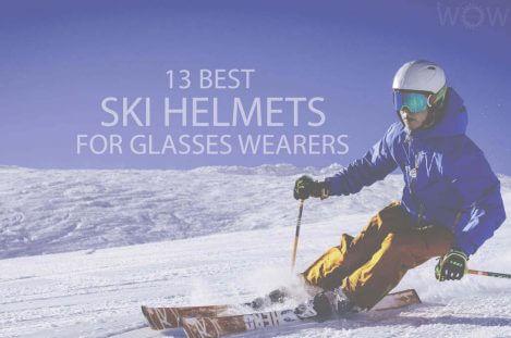 13 Best Ski Helmets For Glasses Wearers