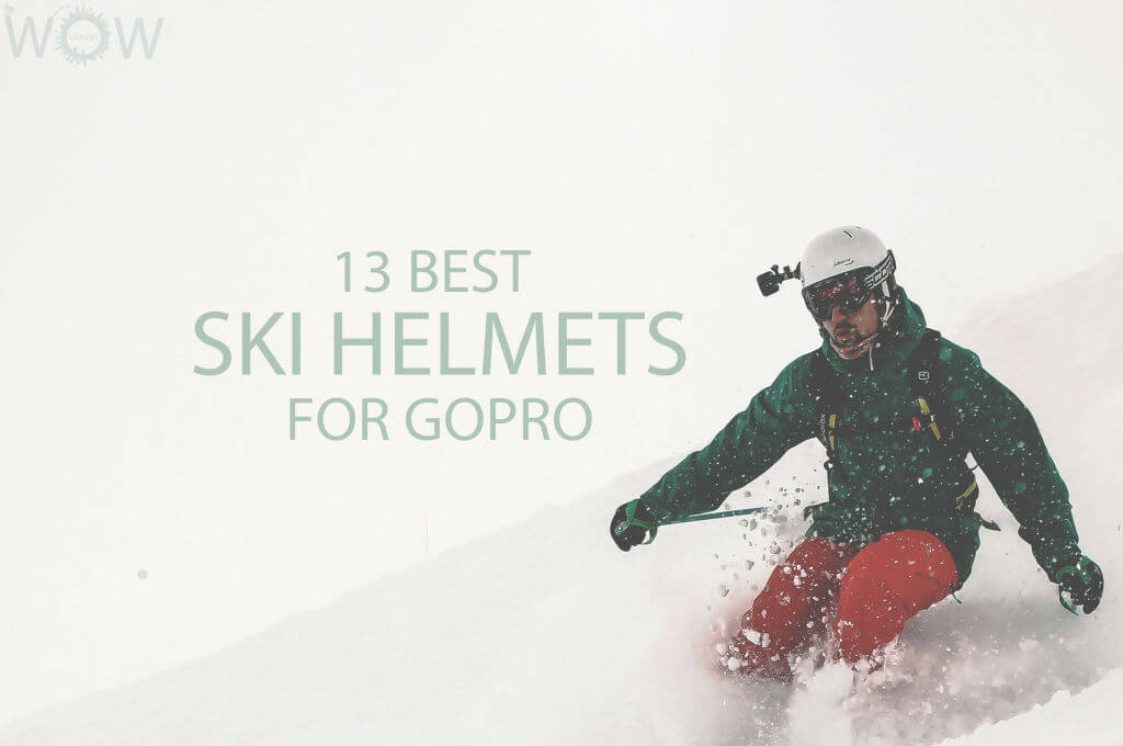 13 Best Ski Helmets For GoPro