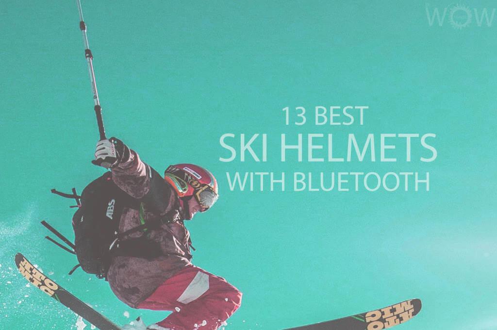 13 Best Ski Helmets With Bluetooth