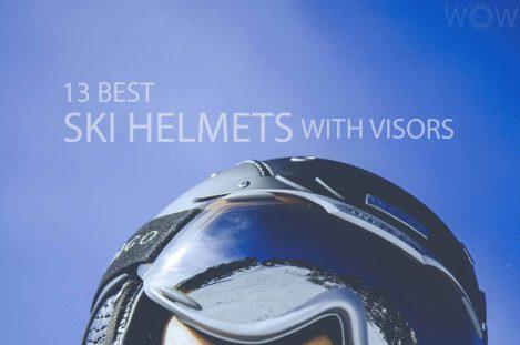 13 Best Ski Helmets With Visors