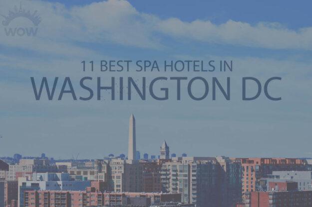 11 Best Spa Hotels in Washington DC