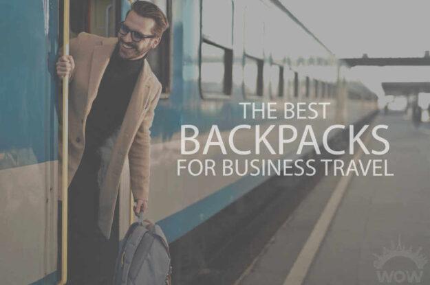 13 Best Backpacks for Business Travel